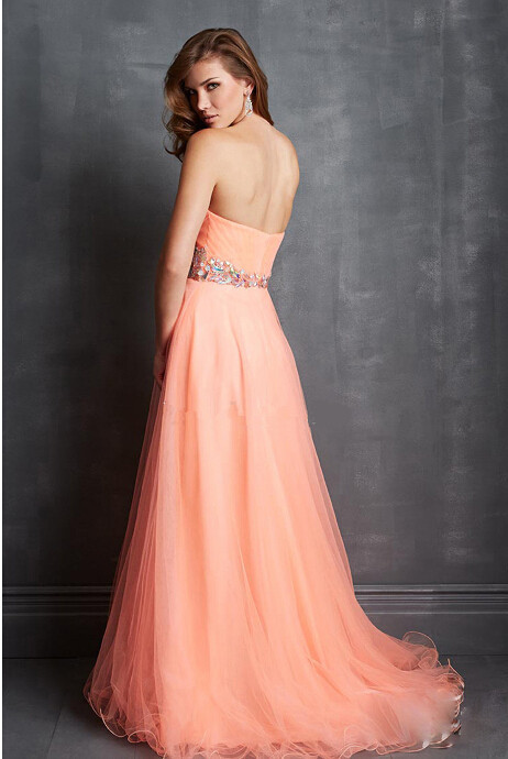 Prom Dress 2015 Beaded Sweetheart Chiffon Long Gown Party Formal Gowns Vestido De Festa - Niu-niu Store store