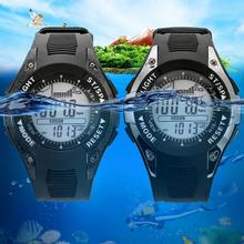 Promo offer Digital-watch Men Waterproof watches outdoor digital watch clock altimeter barometer thermometer altitude climbing hiking hours