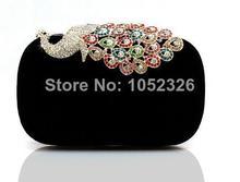 European luxury wedding women handbag, Fashion peacock diamond evening bags,Chain noble women bag,Handbags,noble women clutch