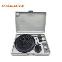 16pcs DIY Hole Saw Cutting Set Kit 3 4 5 19mm 127mm High Quality Mandrels Saws
