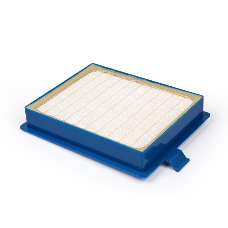 1 шт. синий hepa фильтр пылесоса аксессуары и части пылесос фильтр cartiage для FC8764 FC8766