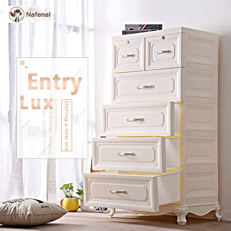 european style plastic box storage organizer drawer
