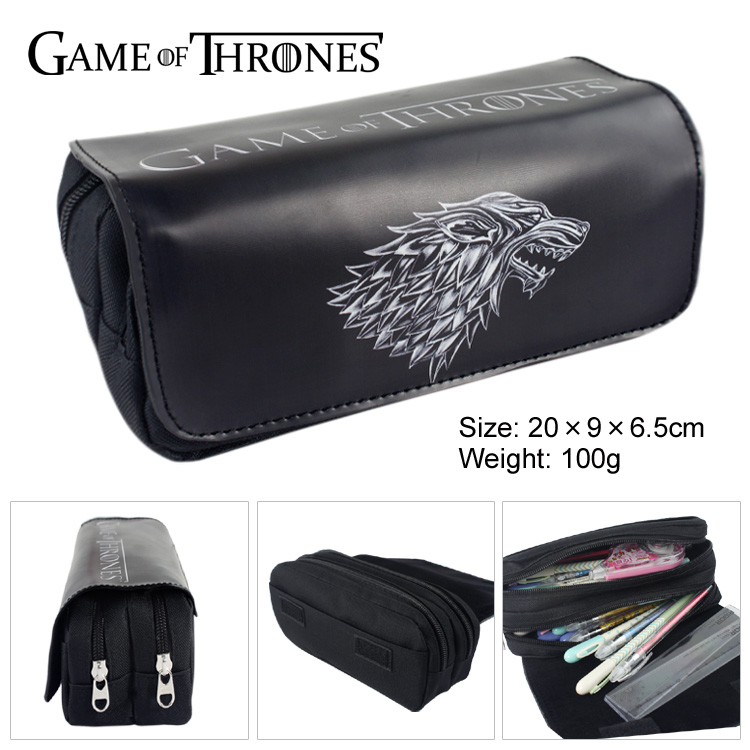 1563d1b1100 Detail Feedback Questions about Game of Thrones Double Zip School ...
