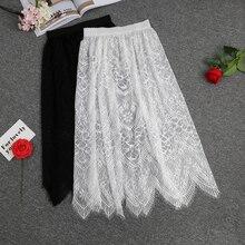 Lace Underskirt Half Slip Women 1002