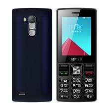 Servo v9300 Dual SIM карты открыл мобильный телефон quad band gsm 2.4 дюйма Экран Bluetooth фонарик мобильного телефона