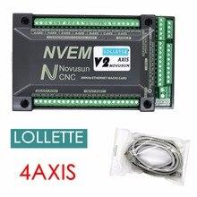 MACH3 NVEM 4 Axis Ethernet CNC Controller 300KHZ Motion Cont