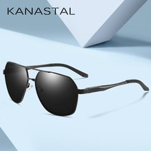 KANASTAL Men's Sunglasses Brand Designer Pilot Polarized Male Sun Glasses Eyeglasses gafas oculos de sol masculino For Men цена
