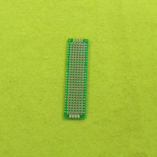 1pcs Double Side Prototype PCB diy Universal Printed Circuit Board 2x8cm Development board 2 x8x1. 6 mm(China (Mainland))