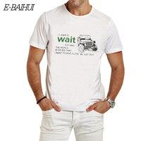 E-BAIHUI Марка Летний стиль футболка Для мужчин хлопок Костюмы футболки повседневные футболки мужские футболки стильные футболки T003