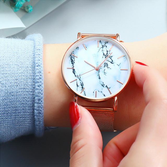 Women's Stainless Steel Strap  Wrist Watch