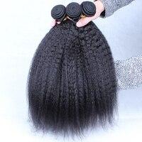 Монгольский странный Прямые локоны 100% Человеческие волосы пучки три Связки Natural Цвет необработанные Химическое наращивание волос Cara