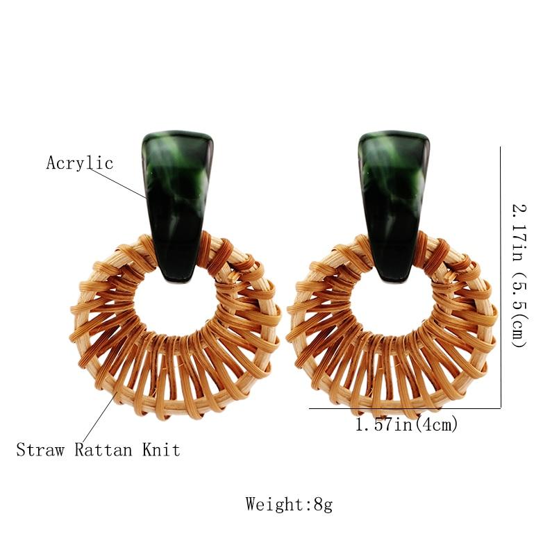 5f25ea10b420 Collares con borlas de piedra Natural pavimentada de cristal para mujer 9  colores elección collar largo