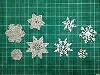 Snowflake Metal Die Cutting Scrapbooking Embossing Dies Cut Stencils Decorative Cards DIY Album Card Paper Card