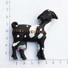 Испания Fuerteventura козы стерео холодильник магнит