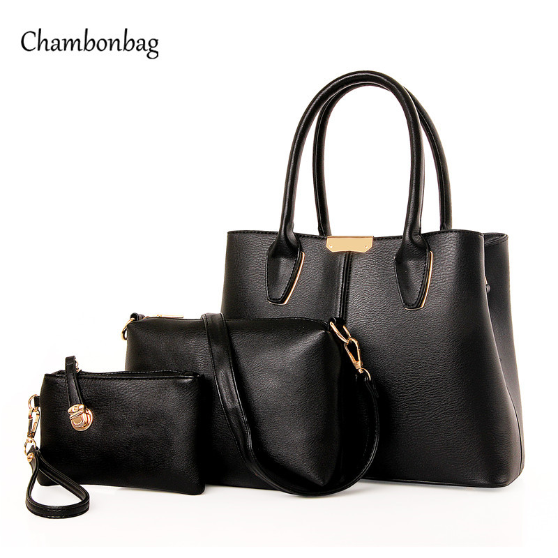 3 Set Handbag font b Women s b font Handbags Set font b Bag b font