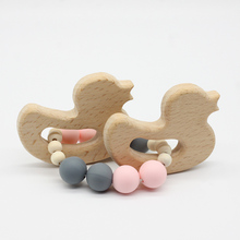 Chewing Beads Wooden Teether