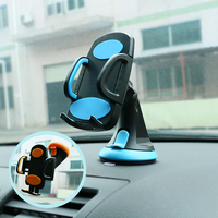 OBSHI Car Phone Holder Suction Windshield Mount Stand 360 Adjustable Phone Holder For IPhone Samsung Xiaomi