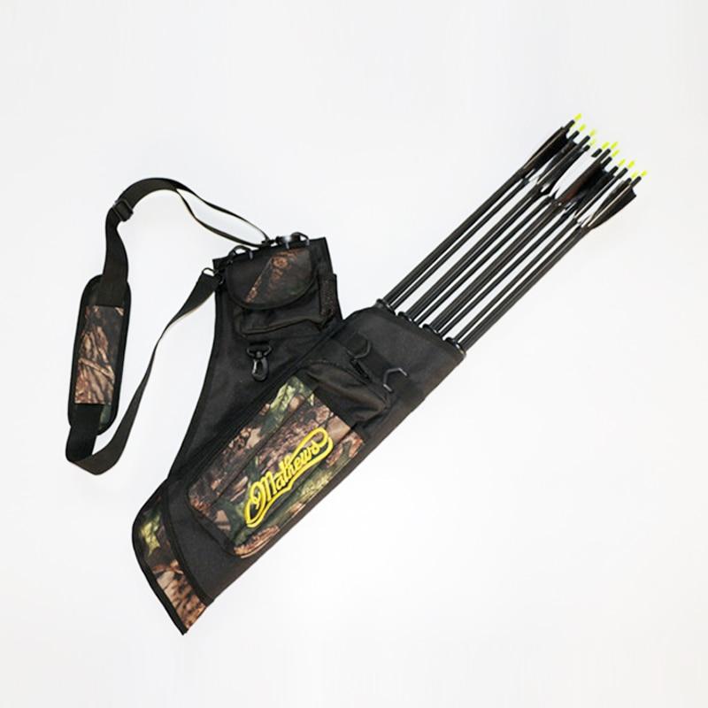 Bow And Arrow Bag : Cm three tubes camo archery quiver bag shoulder or