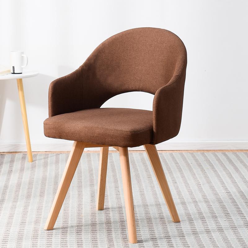 Современный простой стул для ленивых в скандинавском стиле, деревянный стул для ресторана, стул для обучения, простой стол и стул - Цвет: style 3