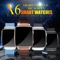 Fuster 2017 Новый X6 Спорт Smart Watch 2.5D HD ДУГИ сенсорный Экран Bluetooth Интеллектуальные Спортивные Часы с Камеры Smartwatch на продажа