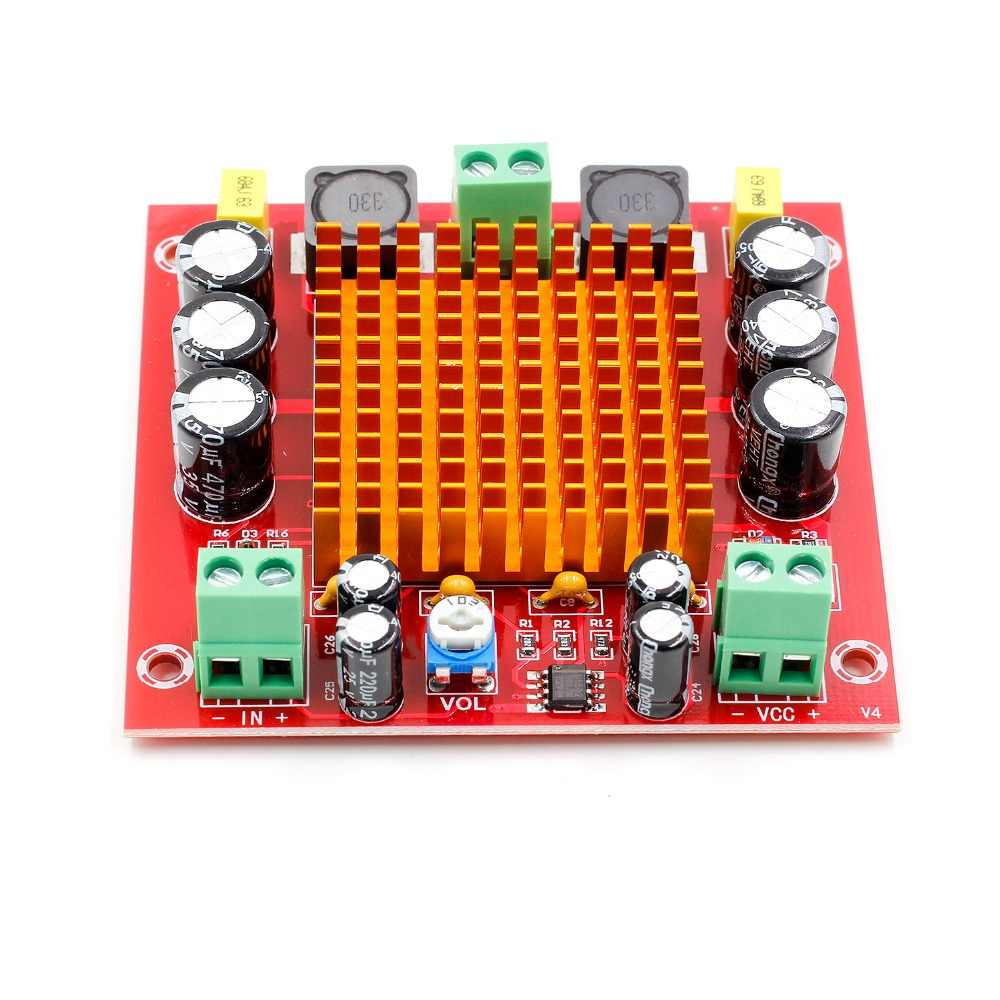 Youe shone XH-M544 DC 12 V 24 V 150 W TPA3116DA TPA3116 D2 подойдет как для повседневной носки, так канальный цифровой усилитель звука усилитель доска с предусилитель