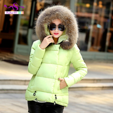 8 color 2016 New Winter Jacket Women Plus Size Hoodie Slim short A version womens winter jackets and coats  YT15