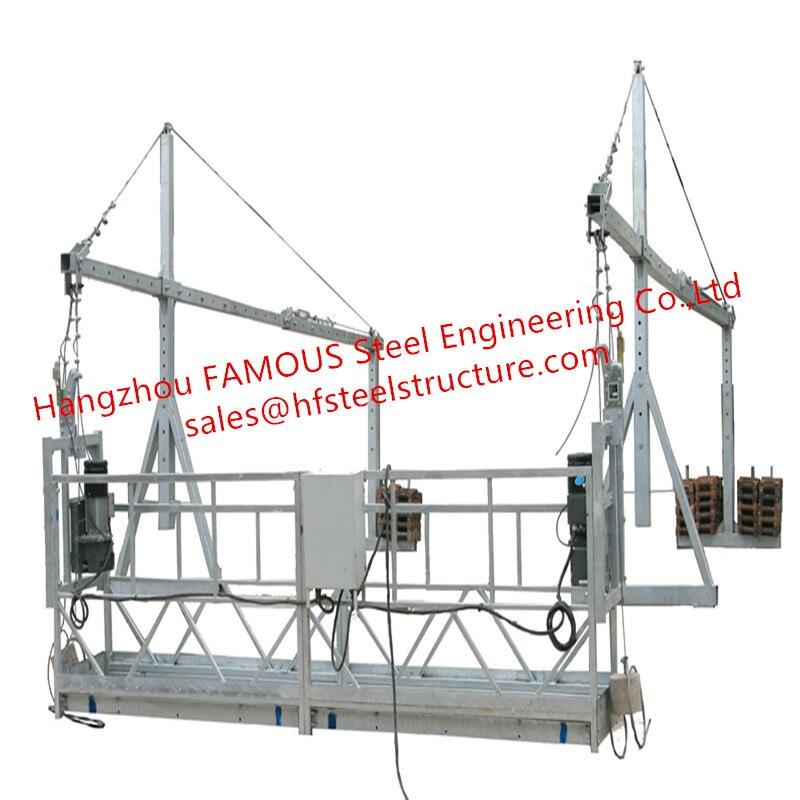 ZLP630 электрические подвесные леса платформа Регулируемая Веревка провода колыбели для внешней стены строительства