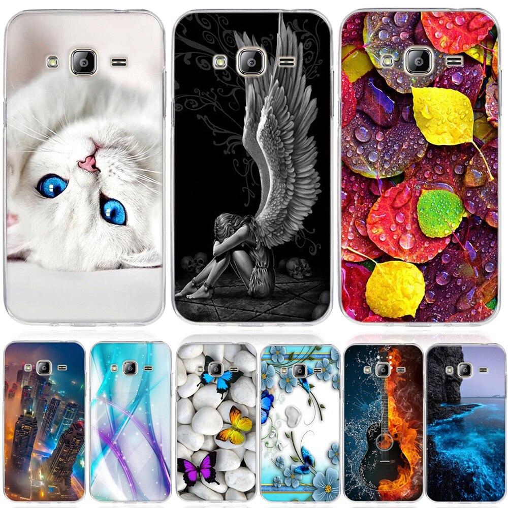 Galleria fotografica Case for Samsung Galaxy J3 Case 3D Soft TPU Silicon Cover For Samsung Galaxy J3 2016 j320F J300 Cover Coque For samsung j3 Funda