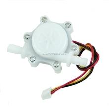 Кофеварка расходомер дозатор воды Датчик потока внутренний диаметр 3 мм DC 5-24 В R02 и Прямая поставка