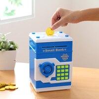 Safety Electronic Piggy Bank Code Digital Coins Cash Deposit Money Box Secret Mini ATM Machine Children