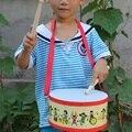 Niños musicales de madera palillos del tambor niño niños escuela aula hogar tambor de la mano del juguete del instrumento de percusión educativos toys