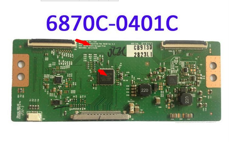 LCD مجلس LC32/37/42/47/55 FHD 6870C-0401C 6870C-0401B 6870C-0401A المنطق مجلس ربط مع T-CON ربط المجلس