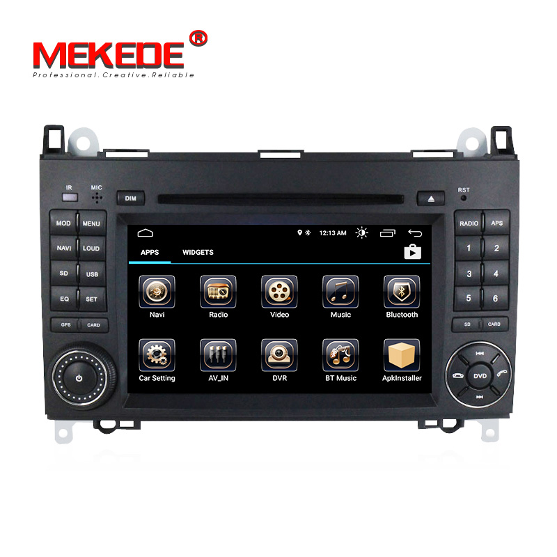New arrival! Android 8.1 car dvd player for Mercedes Benz W245 W169 Viano Vito Sprinter B200 W639 autoradio with GPS navigation