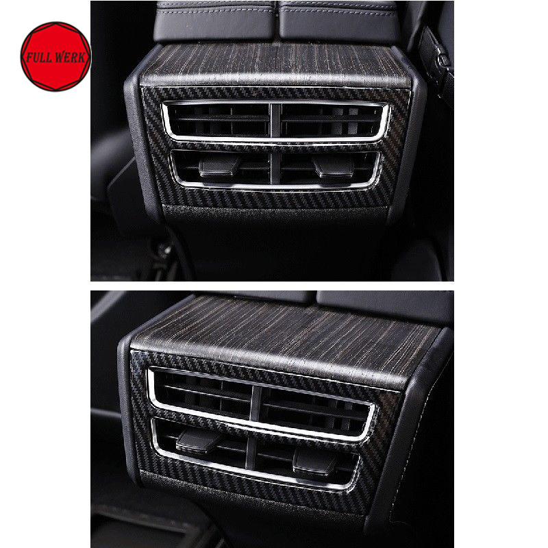 1 pc Car Stainless Steel Air Vent Frame Cover Trim for 2014-2017 Tesla Molde S X Interior Mouldlings Accessories