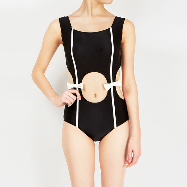 Sexy One Piece Swim Suits Swimsuit Cheap Bathing One-Piece Japanese Designers Customize Black White Butterfly Hollowed Suit cheap sexy bathing suits swim suit one piece may beach girls one piece swimsuit 2017 korean new black dress underwire neck bayan