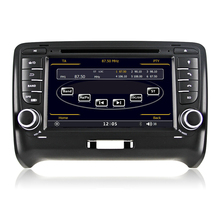 7 inch Capacitive Touch Screen HD 1080P Car DVD GPS Player For Audi TT 2006 2007 2008 2009 2010 2011 2013 2013 with RDS Can Bus