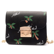 OCARDIAN 2018 hot sale women shoulder bag Fashion Coconut tree printing  leather Small Crossbody Shoulder Bags d173713d88bb2