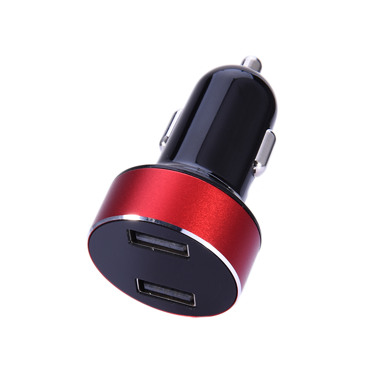 New Universal Dual USB Car Charger Mini Digital Display Voltage Car-charger Adapter For iPhone 5s 6 7 plus For Samsung and so on