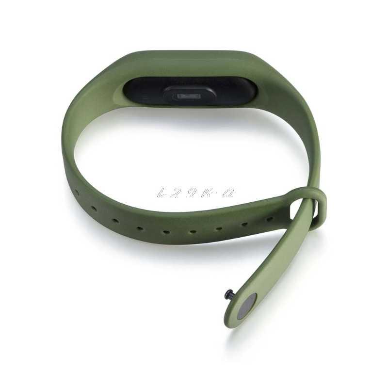 מקורי סיליקון רצועות יד צמיד צמיד fit החלפה XIAOMI MI Band 2