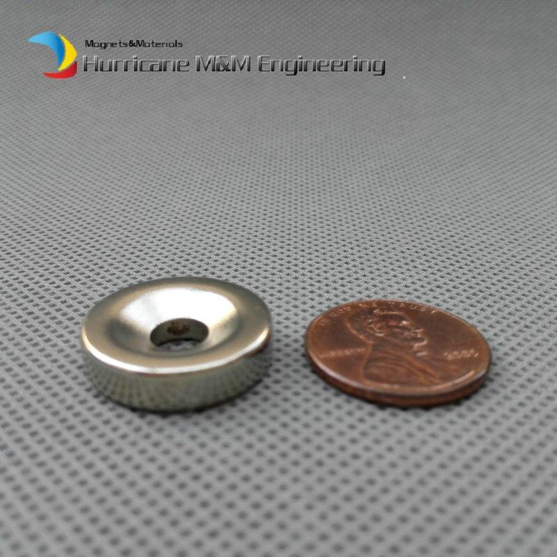 Besorgt 120 Pc Ndfeb Versenkt Magnet über Dia. 20x5mm Dicke M5 Schraube Senkkopf Loch Neodym Rare Earth Permanent Magnet MöChten Sie Einheimische Chinesische Produkte Kaufen?