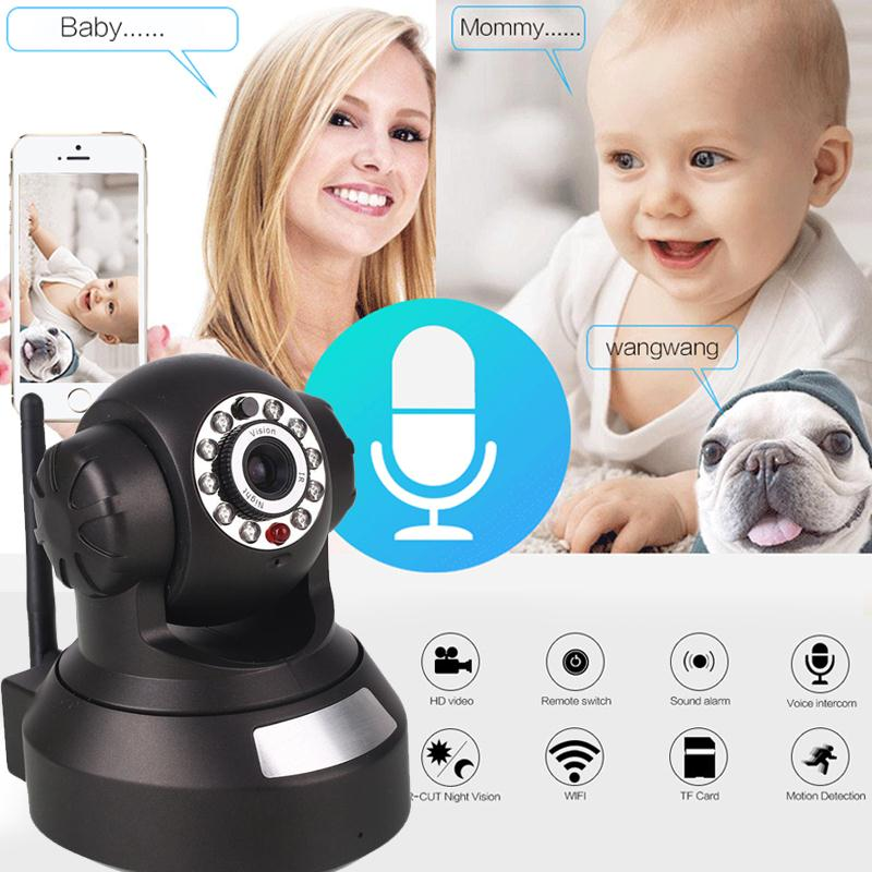 giantree HD Wireless Baby monitor WIFI IP Camera Infrared night vision Mini CCTV Camera Motion Detection Voice Intercom Home new wireless remote control baby monitor with night vision intercom voice wifi network ip camera electronic for smart phone