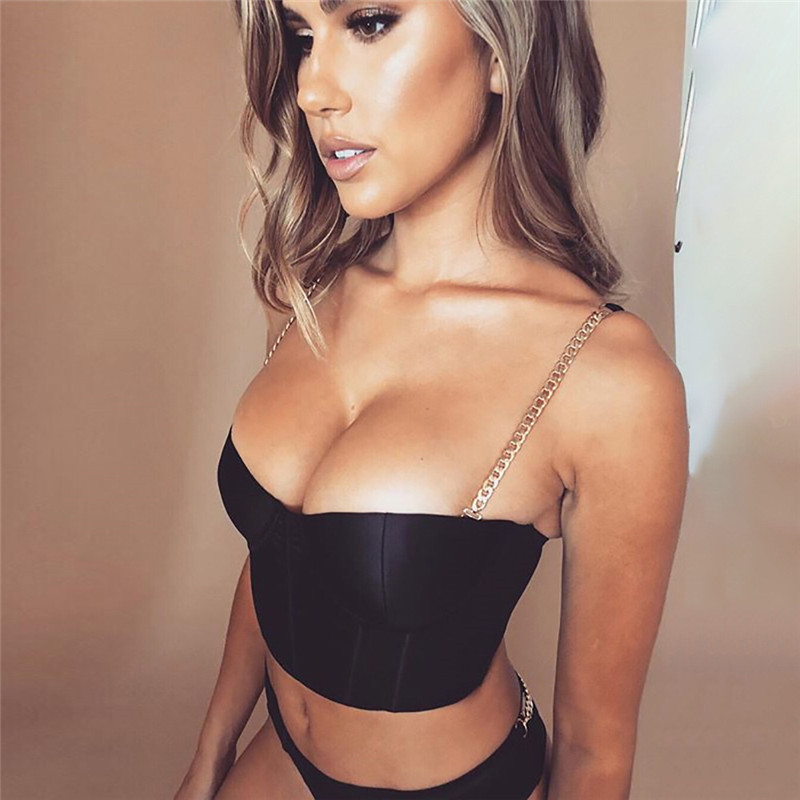 2019 New 2 PCS Set Arrival Sexy Black Lace Mesh Zipper Patchwork Semi transparent Bodysuit Metal Night Club Daily Wear For Women in Bodysuits from Women 39 s Clothing