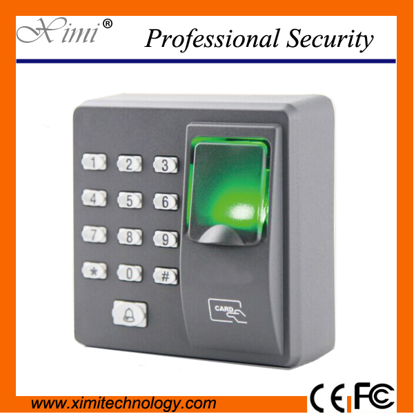 Fingerprint access control machine with keypad fingerprint scanner for RFID door access control system with 10pcs RFID keyfob brand new biometric fingerprint door access control system 125hz rfid keypad for entrance guard get 10 piece id keyfob free