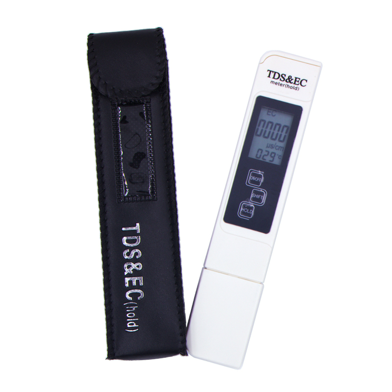 TDS pen Tester EC meter conductivity meter water measurement tool TSD&EC tool meter Function 3 in 1 tds EC 40%off 3 in1 digital lcd tds ec meter temperature tester conductivity water filter purity pen liquid quality tools with backlight 42%
