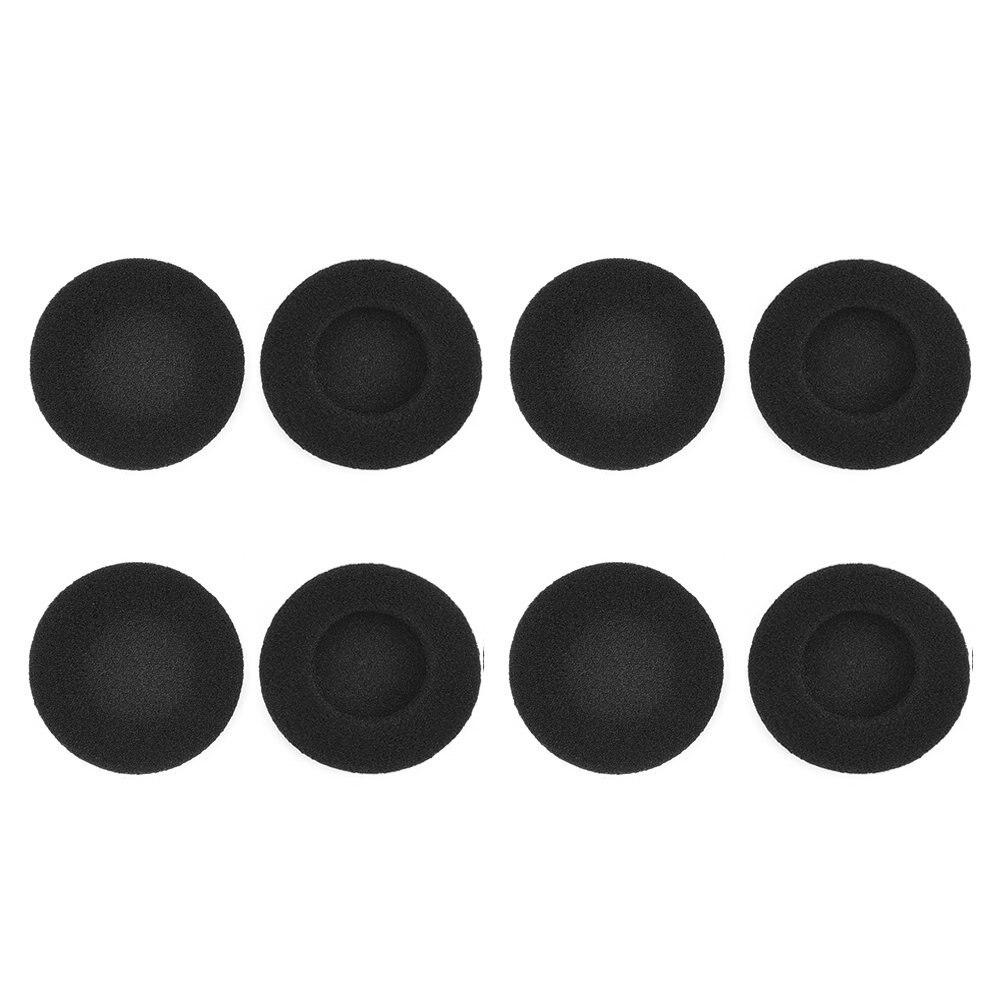 Tragbares Audio & Video 4 Pairs 2 Zoll Schaum Pad Ohr Pad Für Sony Sennheiser Philips Kopfhörer Schwarz Gut FüR Energie Und Die Milz