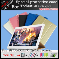 Ultra Slim PU Stand Cover Case For Teclast 98 Octa Core Updated Version 4G Phone Calling