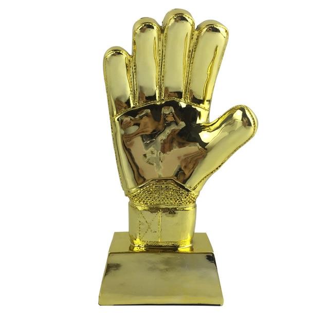4b3c731e8 Golden Glove Award Trophy World Cup Soccer Football Goalkeeper Fans  Souvenirs 9.4 Inches Height Resin Material