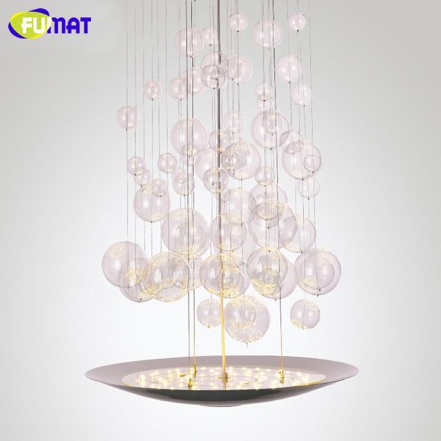 Fumat Treppen Kronleuchter Moderne Led Blase Leuchten Designer Hotel