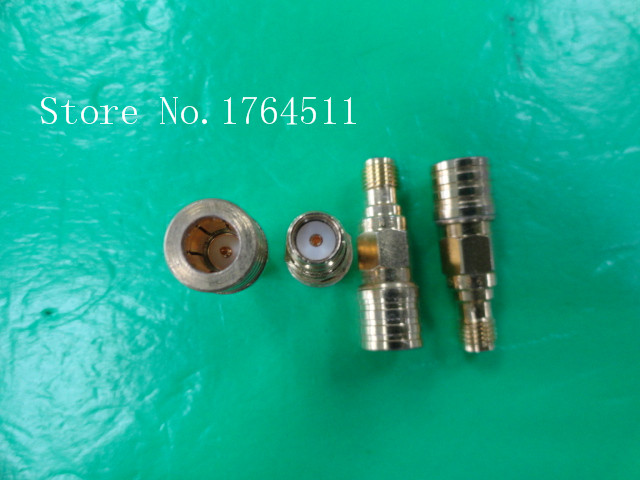 [BELLA] Imported Gold-plated SM5586 QMA Disassemble Blind Plug To SMA Female Adaptor  --5PCS/LOT