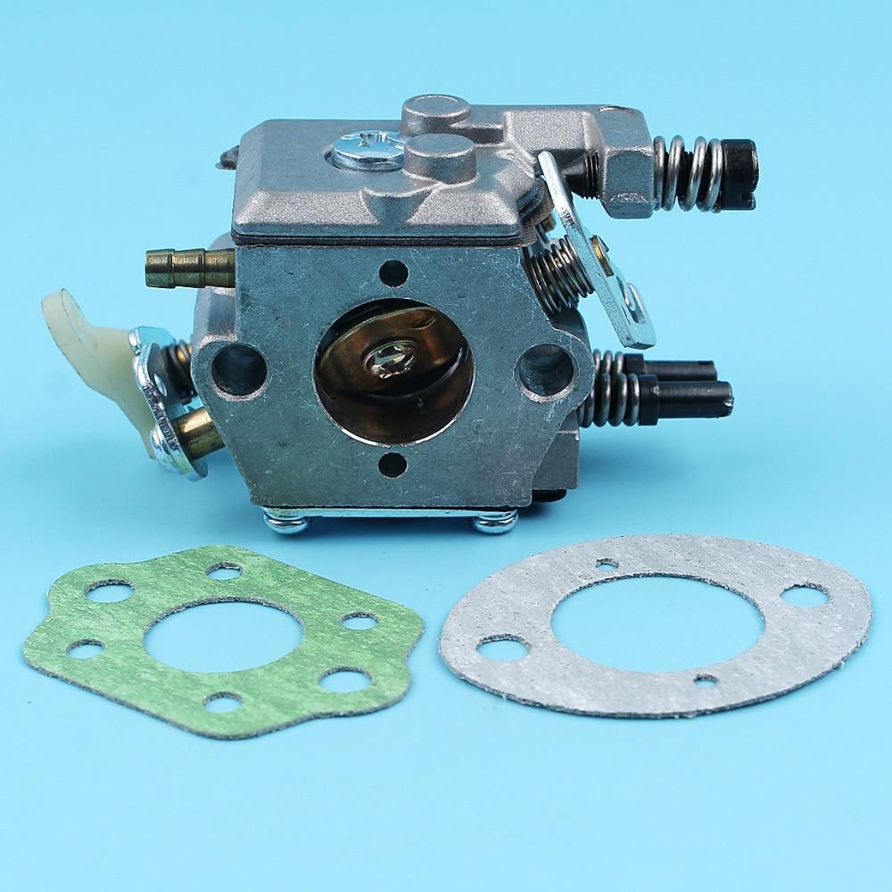 Carburetor W/ 2pc Gaskets Kit For HUSQVARNA 51 55 50 Chainsaw Walbro Carb WT-170/WT-170-1 #503281504